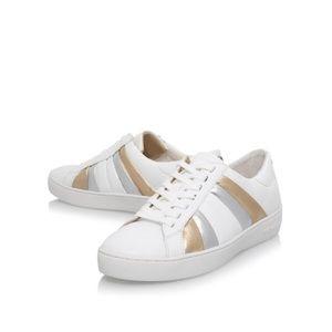 MICHAEL KORS Conrad Metallic Stripe Sneakers